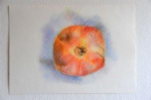 granatapfel-farbstift